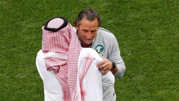 مدرب الأخضر السعودي يحذر من منتخب روسيا