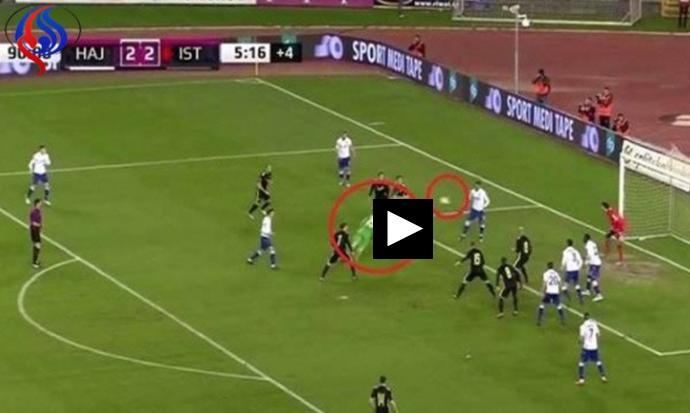 بالفيديو : حارس مرمى يهدي فوزا ثمينا لفريقه