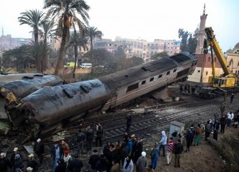 السلطات المصرية تحدد اسباب تصادم قطاري الاسكندرية