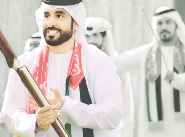 وصلات وطنية تراثية لـ «العوايد الحربية» الإماراتيّة