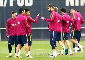 برشلونة يبدأ الاستعداد لمواجهة ريال بيتيس في الليجا