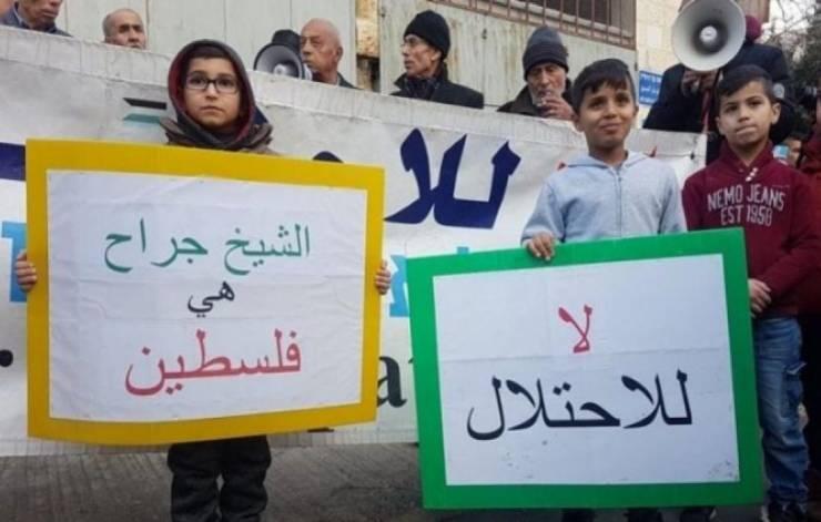 """خوفاً من مواجهات جديدة ..  حكومة بينيت تنظر في تأجيل الحكم بشأن إخلاء """"الشيخ جراح"""""""