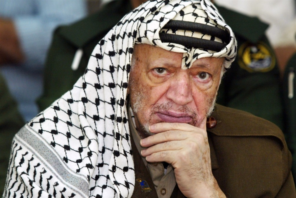الفلسطينيون يحيون الذكرى 14 لرحيل الزعيم ياسر عرفات