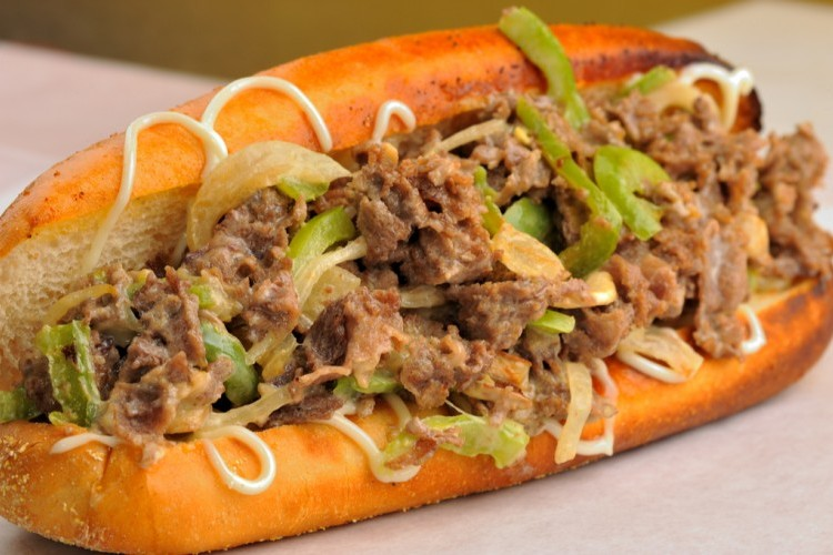 ساندويش اللحم المفروم بالفلفل الأخضر دايت