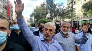 بالفيديو ..  أول ظهور لرئيس حركة حماس في غزة بعد العدوان الإسرائيلي