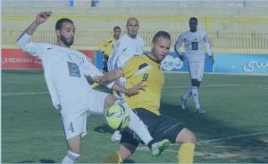 فوز ذات راس على الحسين إربد في دوري المناصير للمحترفين