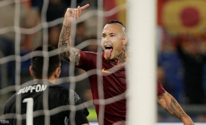 روما يحرم يوفنتوس من حسم لقب الدوري الإيطالي