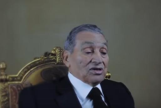 """بالفيديو  .. هذا ما قاله """"مبارك """" في اول ظهور إعلامي  منذ تنحيه عن الحكم"""