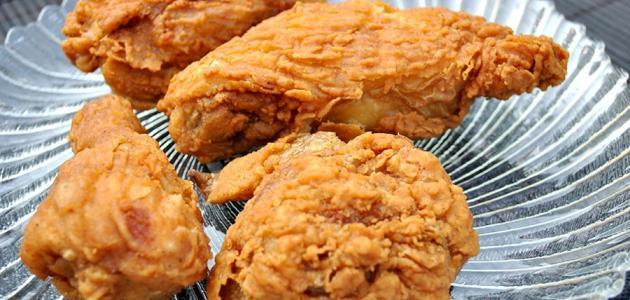 طريقة عمل الدجاج المقرمشة