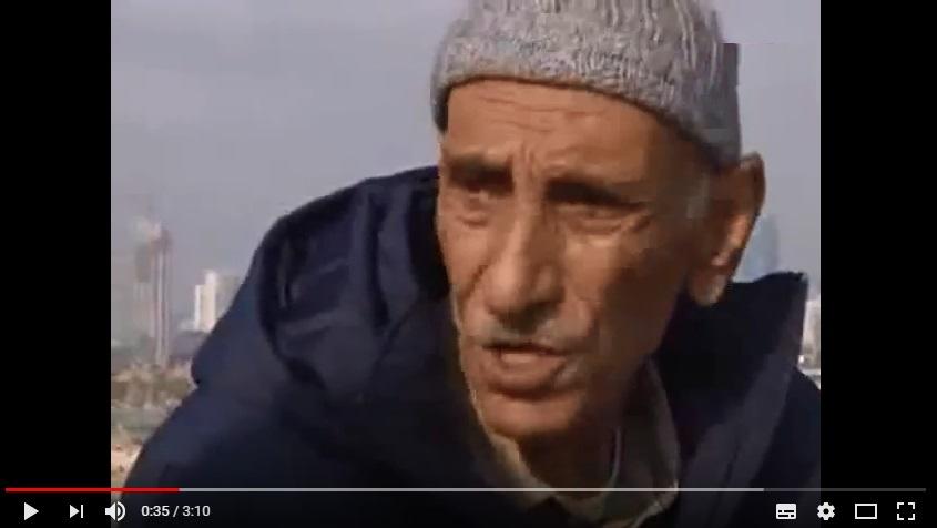 بالفيديو  .. معمر يروي قصته بمدينة يافا