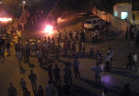 الزرقاء: اندلاع اعمال شغب في ضاحية مكة اثر مشاجرة عشائرية