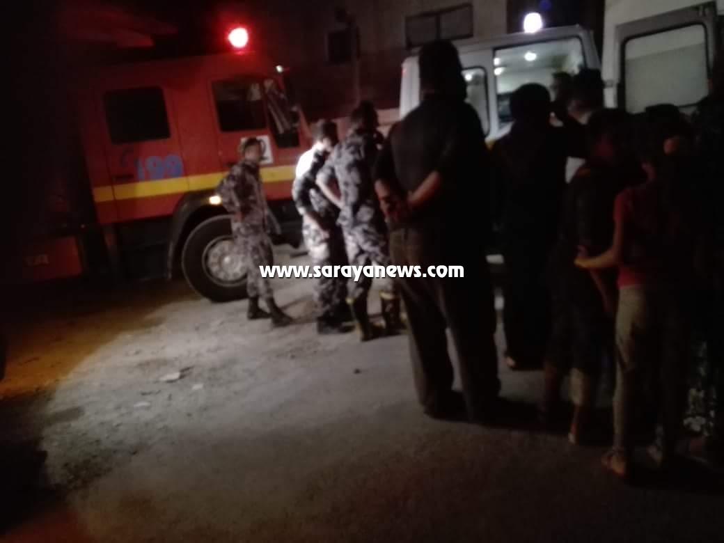 الأغوار الشمالية: (5) إصابات بالاختناق إثر حريق منزل في بلدة بصيله
