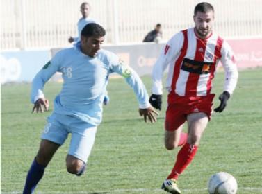شباب الأردن يغلب الصريح ويقفز إلى صدارة دوري المحترفين الكروي