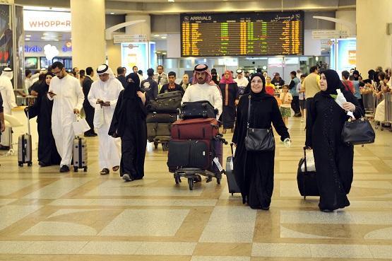 الكويت تقلص أعداد القادمين جوا 80%