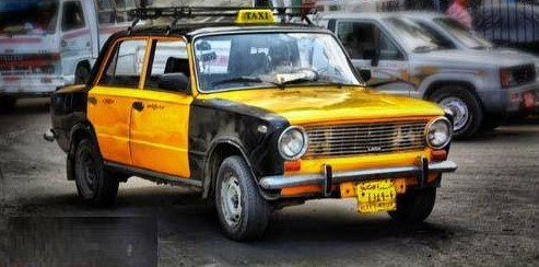 سائق التاكسي المريض