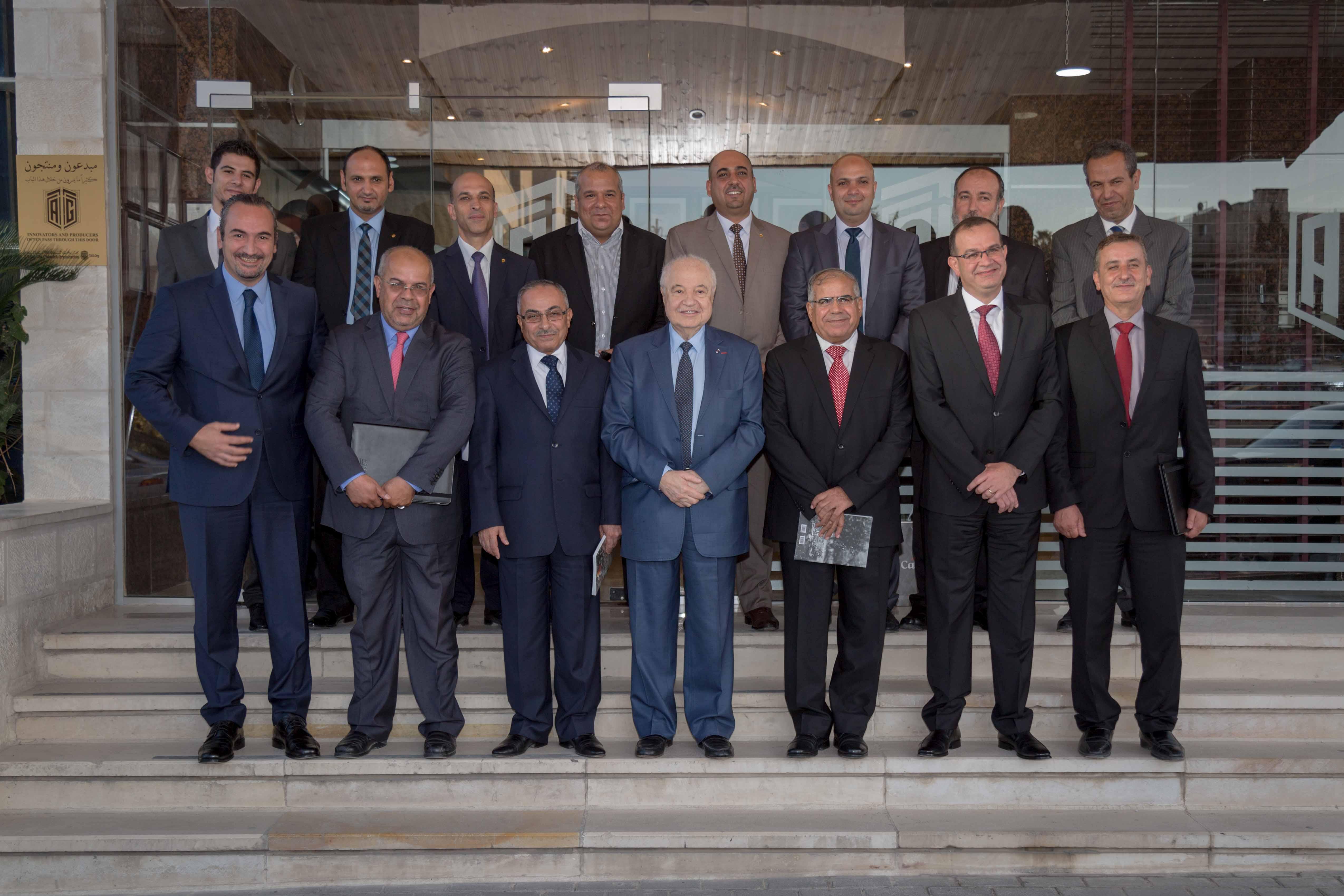 مجموعة طلال أبو غزاله وشبكة الجامعات الأردنية وOrange الأردن يطلقون الشبكة الدولية للربط التقني للبحث والتعليم بالشراكة مع الاتحاد الأوروبي
