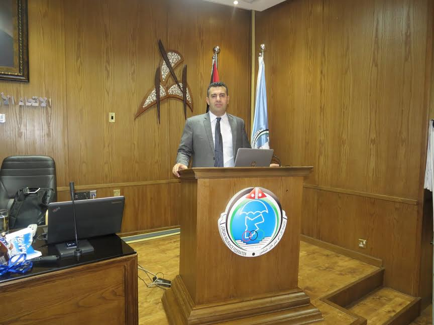 عدنان أبو الهيجاء من الشرق العربي للتأمين يقدم دورة إدارة المخاطر المؤسسية بتنظيم من الإتحاد الأردني لشركات التأمين