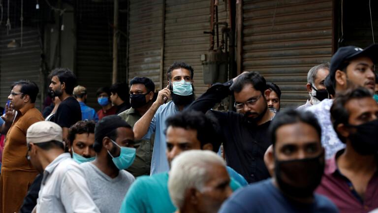 باكستان ..  أكثر من 2000 إصابة جديدة بفيروس كورونا