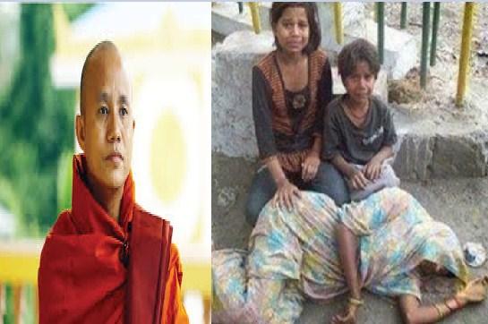 """بالفيديو ..  زعيم عصابة يُسمي نفسه """"ابن لادن بورما"""" يقود مذابح الروهينغا ضد المسلمين ..  حقائق مثيرة عن البوذيين"""