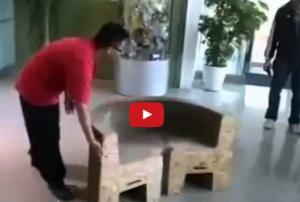 بالفيديو ..هذا الكرسي أدهش العالم والسبب؟!