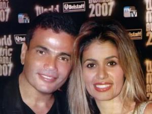 صور نادرة من زفاف عمرو دياب وزوجته السعودية زينة عاشور
