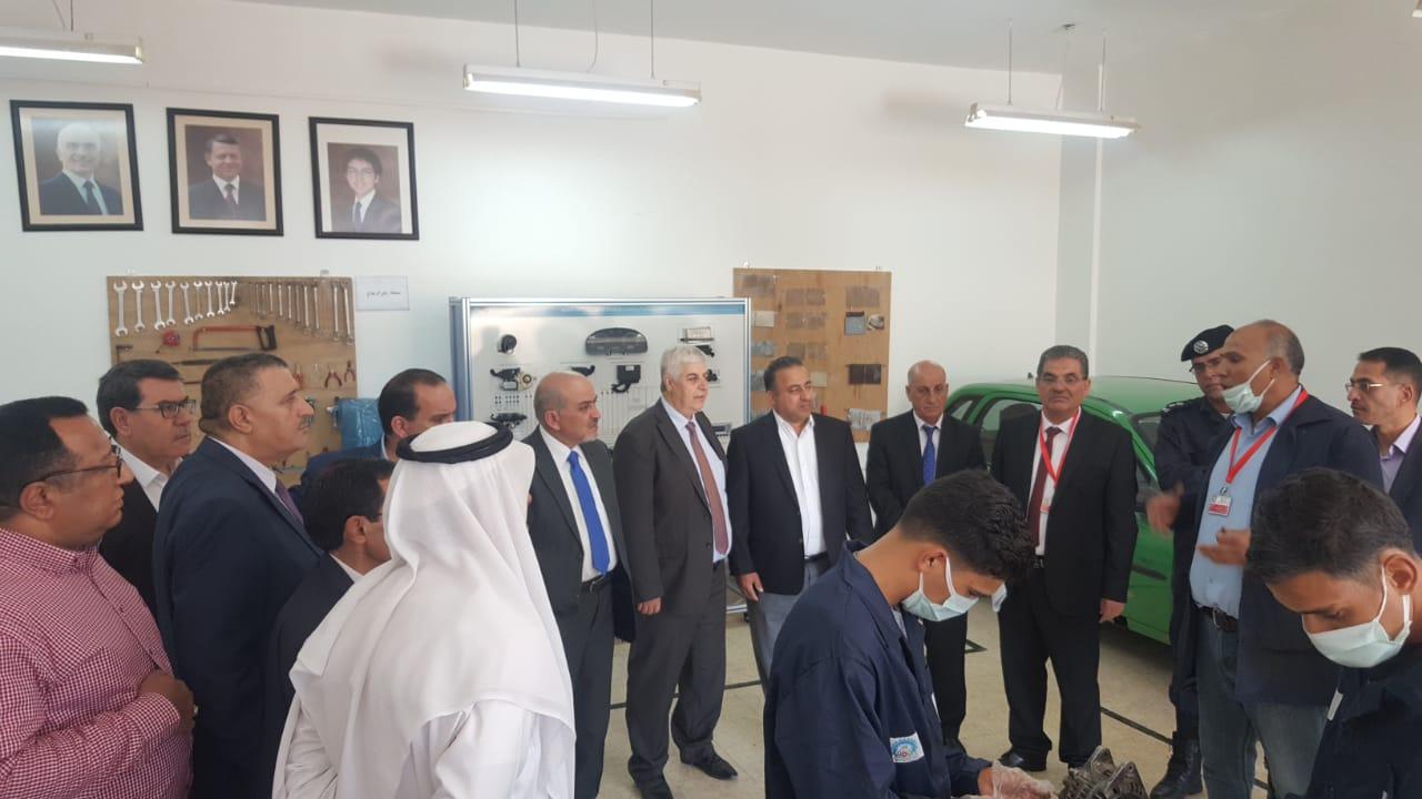 لقاء موسع لمجلس محافظة الكرك ومؤسسة التدريب المهني