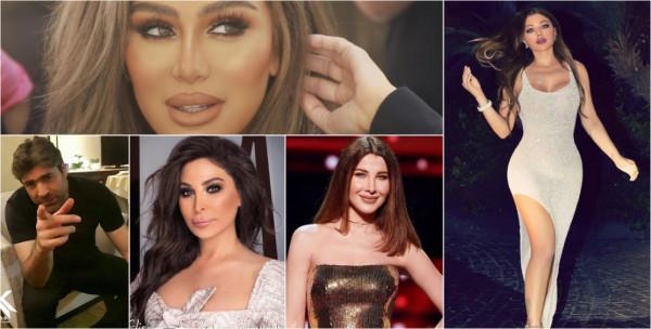 نجوم لبنان يتحدون بعضهم لمحاربة كورونا ..  بكم تبرعت هيفاء ونانسي؟