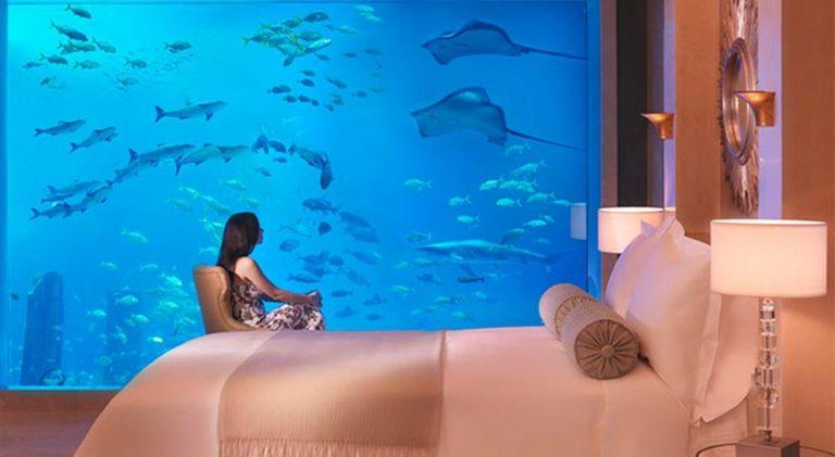 بالصور : تعرف على أجمل غرف الفنادق المذهلة تحت الماء