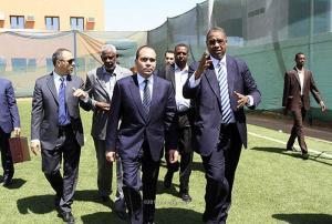 استقبال حافل للامير علي في السودان