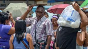 """مقتل عجوز فنزويلة دهسا بالأقدام جراء """"الدعم"""""""