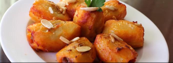 محشي البطاطس باللحم بالفيديو