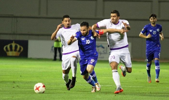 الرمثا يتصدر الدوري بتغلبه على نادي اليرموك