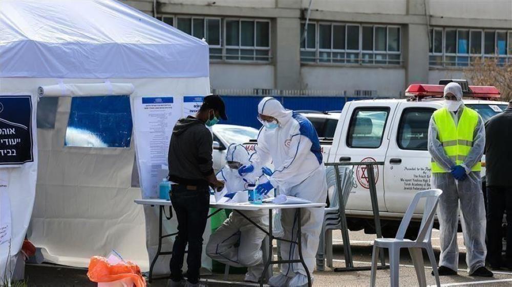 5 وفيات و156 إصابة جديدة بفيروس كورونا في الكيان الاسرائيلي
