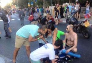 متطرف يهودي يطعن 6 مشاركين بمسيرة للمثليين في القدس