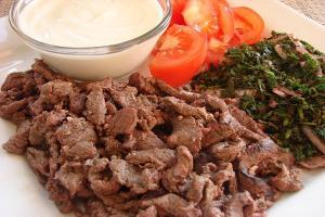 طريقة عمل شاورما لحم تركية