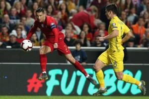 عودة رونالدو لم تكن كافية لتفوز البرتغال على أوكرانيا