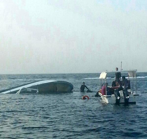 حرس الحدود بمكة ينقذ 6 سعوديين من الغرق