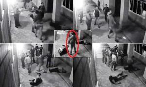 بالفيديو .. متحرِّشون سقطوا في قبضة ملاكم روسي عاكسوا زوجته