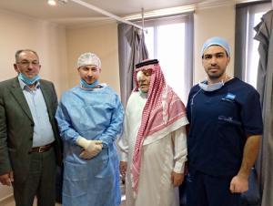 شكر وعرفان للدكتور محمد أبو الضبعات
