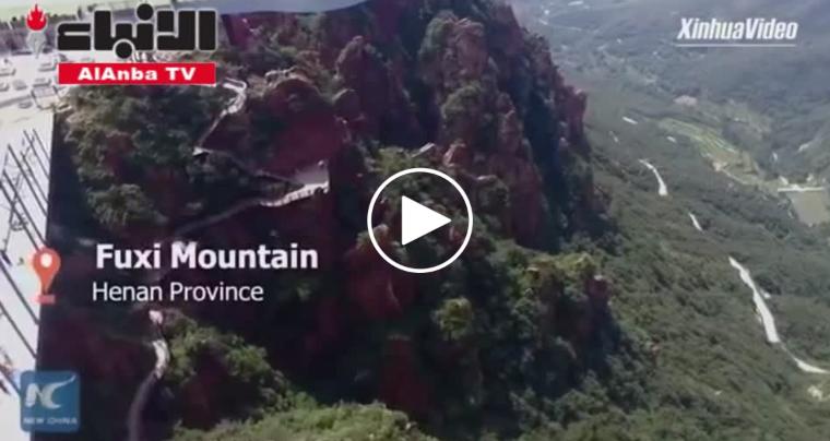 بالفيديو ..  أرجوحة على ارتفاع 320 مترًا… شاهد أحدث ألعاب الصين الخطيرة