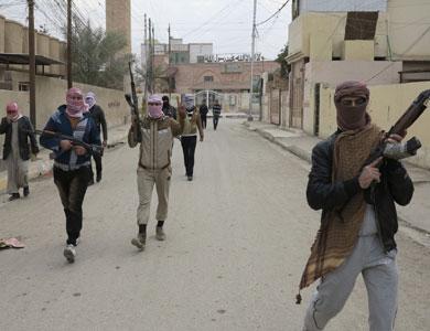 مقاتلو 'داعش' يسيطرون على مناطق واسعة في محيط الرمادي غربي العراق