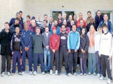 إقامة دورة المستوى الأول للبرنامج الوطني لتأهيل المدربين