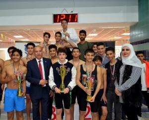 بتنظيم من مدارس الجامعة  ..  جامعة عمان الأهلية تستضيف دوري المدارس لأبطال السباحة