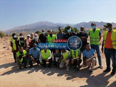 بلدية الأغوار الجنوبية تطلق حملة النظافه في عدة مواقع