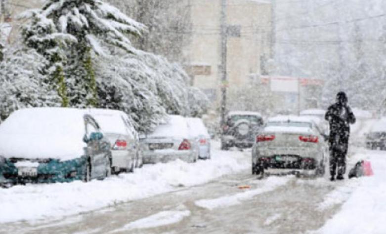آخر تطورات المنخفضان الجويان القادمان للمملكة و الموعد المتوقع لتساقط الثلوج
