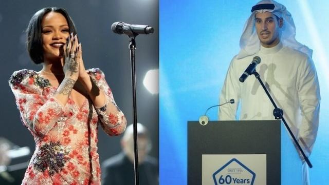ريهانا تكشف تفاصيل علاقتها بالثري السعودي لأول مرة