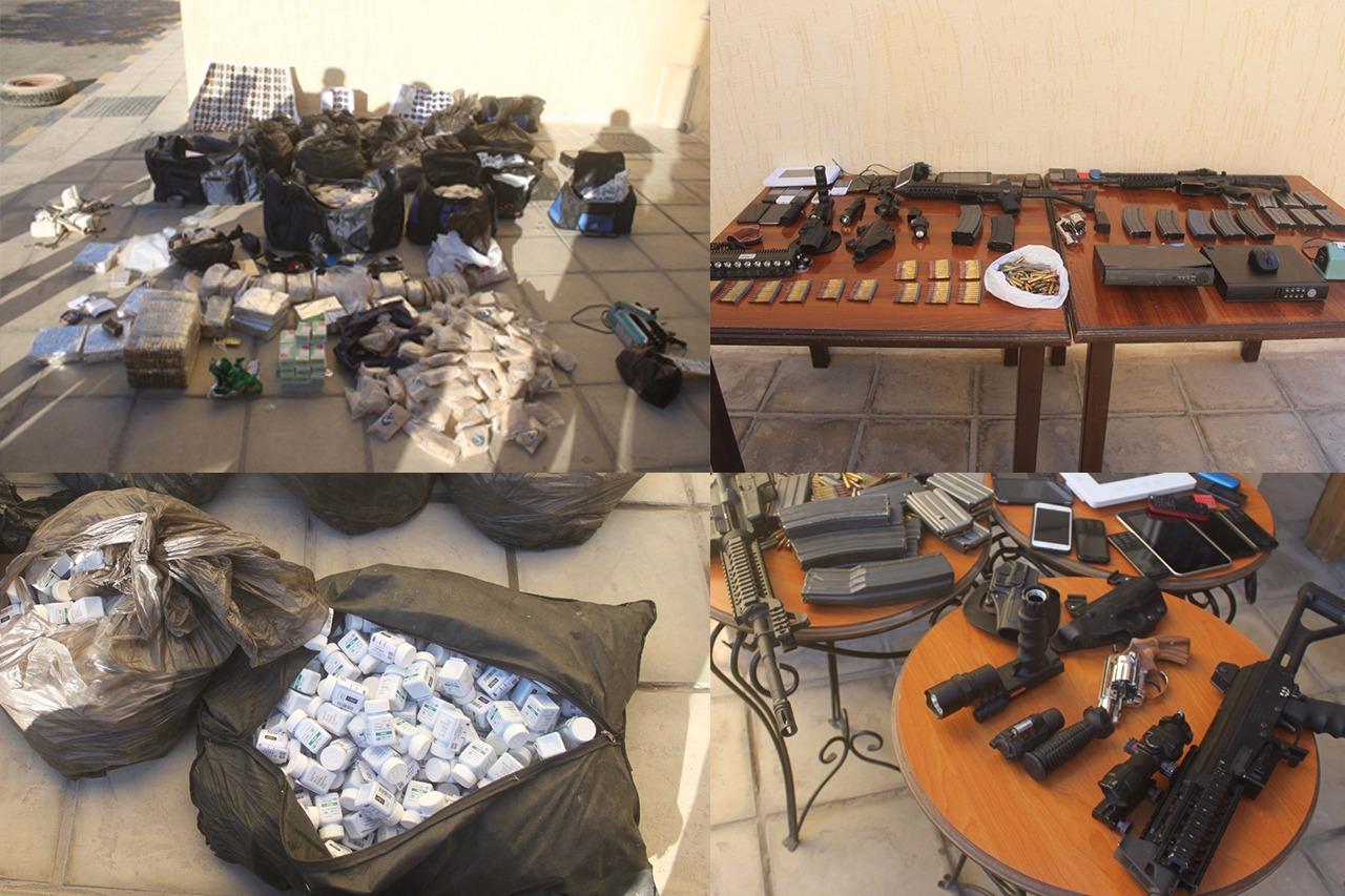 القبض على (7) اشخاص من مروجي المخدرات خلال مداهمة امنية تخللها اطلاق نار