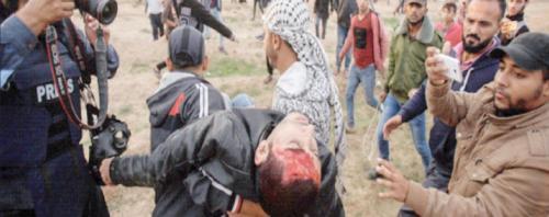 عشرات الإصابات برصاص الاحتلال شرق غزة وإسرائيل تتجه إلى انتخابات مبكرة