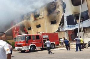 وفاة عشرينية واصابة طفليها بضيق تنفس بحريق منزل بالهاشمي الشمالي