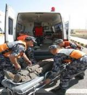 6 اصابات بحادث تدهور في معان